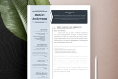 Professional Editable Resume Cv Template in Word Apple Pages Product Image 5