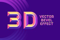 Record Label - Color Vector Font Product Image 2