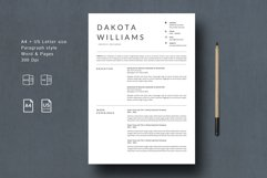Chic Resume Template CV Product Image 1