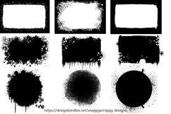 Paint Drip Photoshop Masks Product Image 2