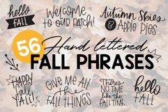 Fall Phrases Symbols Font Product Image 1