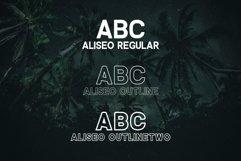 Aliseo Font Family - Sans Serif Product Image 2