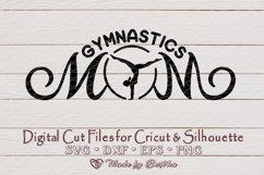 Gymnastics Mom svg, Sports mom svg, Gymnastics, SVG cut file Product Image 1