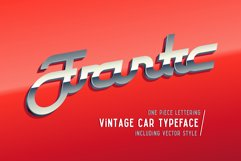 Frantic font & style Product Image 1
