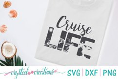 Cruise Life SVG, DXF, PNG Product Image 1