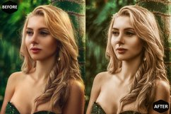Macadamia Photoshop Actions And ACR Presets, Brown Ps action Product Image 4