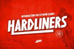 HARDLINERS - Extreme Sport Font Product Image 1