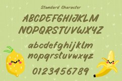 Funny Handwritten Font - Fruity Stories Product Image 4