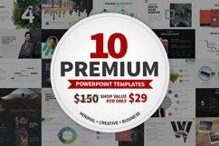 10 Premium Powerpoint Templates Product Image 1