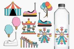 Carnival Amusement Park Rides Illustrations Product Image 1