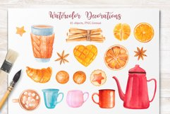 Winter. Watercolor collection. Product Image 15