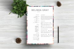 Modern Resume Template CV Design Product Image 1