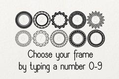 Monogram Framer Product Image 2