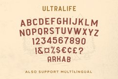 Ultralife Typeface Product Image 3