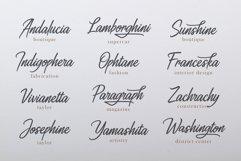 Ahtohalland elegant signature script Product Image 2