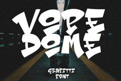 Vope Dome Graffiti font Product Image 1