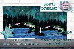 Outdoors|Fishing|20oz|Sublimation|Tumbler Design Product Image 2
