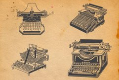 22-hand drawn typewriters Product Image 6