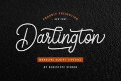 Darlington - Script Monoline Vintage Product Image 1