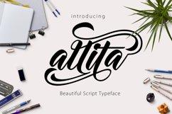 Allita Script Product Image 1