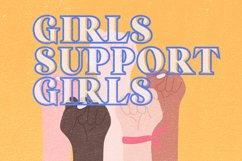 Strong Girls - Layered Serif Font Product Image 6