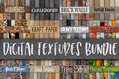 Digital Textures Bundle - Includes 180 Digital Papers Product Image 1
