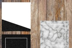 Marble and Black Glitter Instagram Template Pack Product Image 4