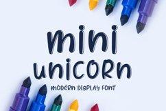 Mini Unicorn Product Image 1