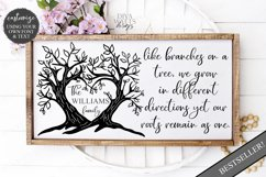 Like Branches on a Tree Family - Customizable SVG Product Image 2
