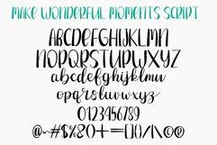 Make Wonderful Moments - Duo Font Product Image 4