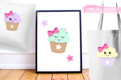 Cutie Cupcakes graphics and illustrations Product Image 5