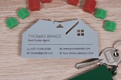 Real estate business card template cutting file Product Image 3