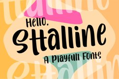 Sttalline | Quirky Fonts Product Image 1