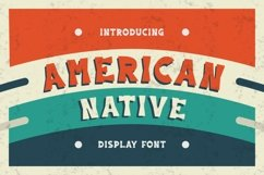 American Native Font Product Image 1