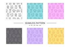 15 cute animals set clipart Product Image 5