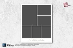 8x10 Photo Collage Templates Product Image 2