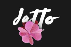 Datto Typeface Product Image 1