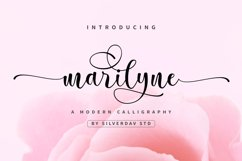 Marilyne - Modern Calligraphy Font Product Image 1