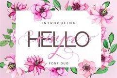 Hello Eisya - Font Duo Product Image 1