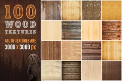 100 Real Wood Textures Product Image 1