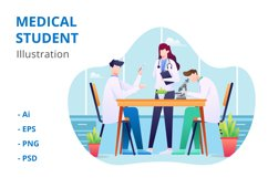Medical Student Illustration Product Image 1