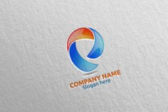 Letter P Logo Design 17 Product Image 1