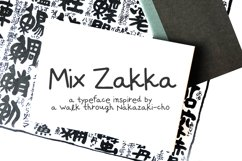 Zakka - a handwritten font inspired by Japan Product Image 1