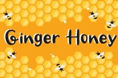 Ginger Honey -Handwritten Script font Product Image 1