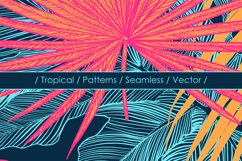 Tropical vector patterns Product Image 2