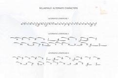 Mujaerald Font Product Image 4