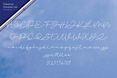 Classyloop Elegant Monoline Script Font Product Image 6