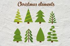 Christmas abstract set SVG Product Image 4