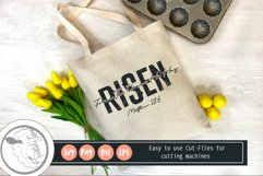 HE IS Risen SVG|Faith Svg|Bible Verse Svg Product Image 2