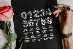 Papercut Heart Numbers Set, Numerical Monogram SVG Cut Files Product Image 4